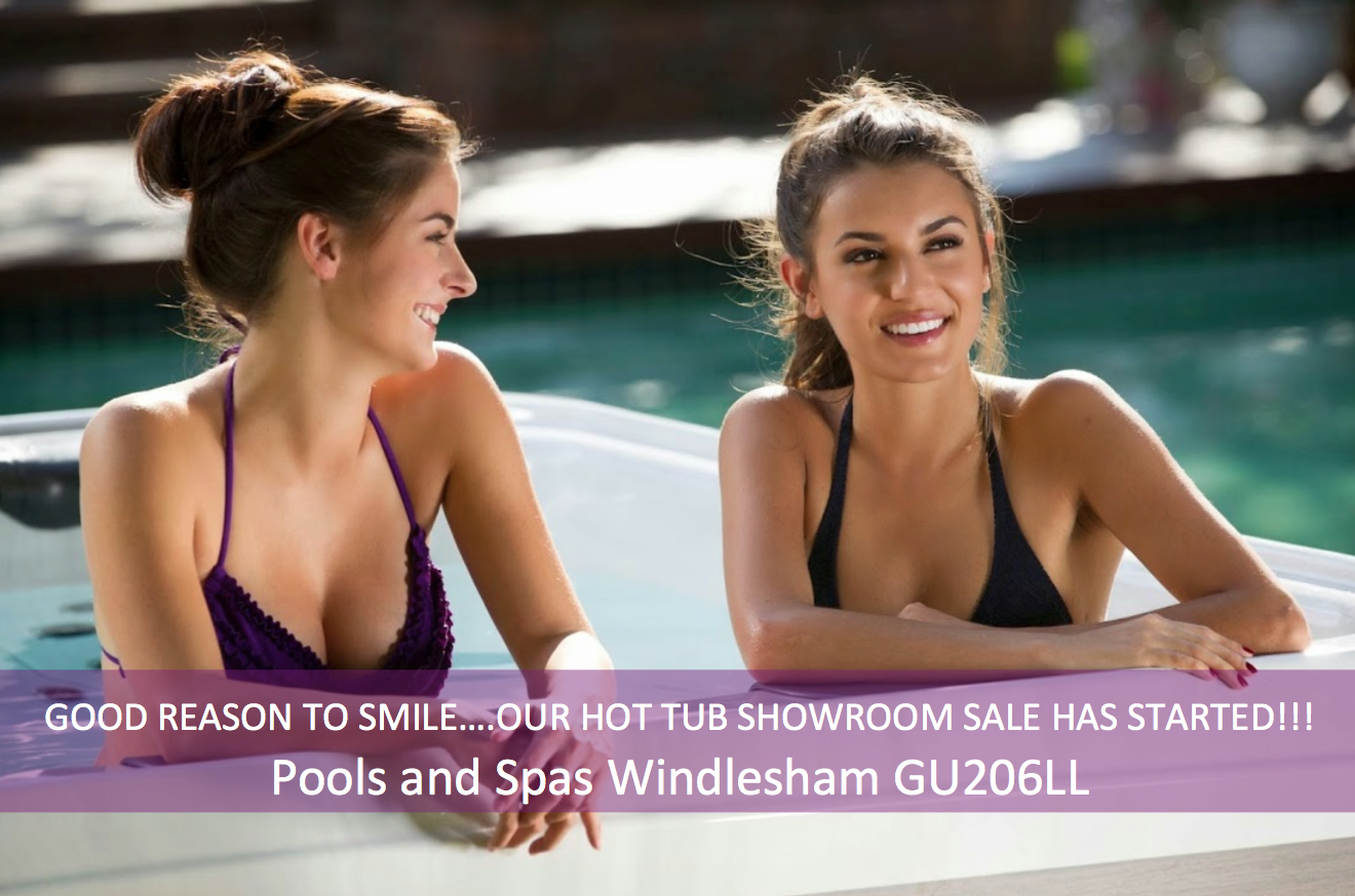 Huge Hot Tub Sale