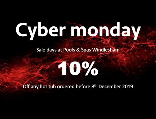 Cyber Monday Hot Tub Deals
